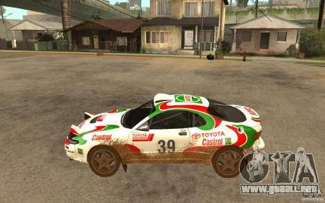 Toyota Celica GT-Four para GTA San Andreas left