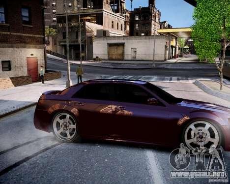 Chrysler 300 SRT8 DUB 2012 para GTA 4 vista interior