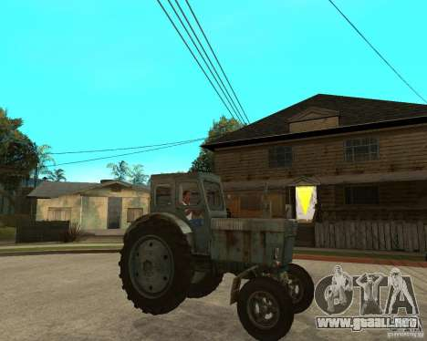 Tractor Т-40М para la visión correcta GTA San Andreas