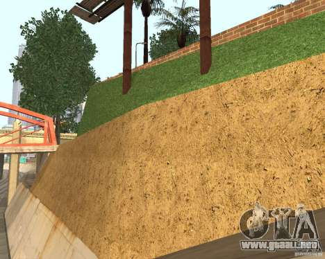 Textura de la cancha de baloncesto para GTA San Andreas tercera pantalla