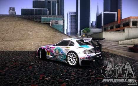 BMW Z4 E89 GT3 2010 para GTA San Andreas interior