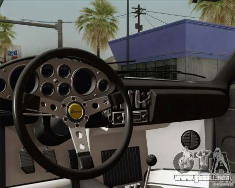 Ferrari 246 Dino GTS para GTA San Andreas interior