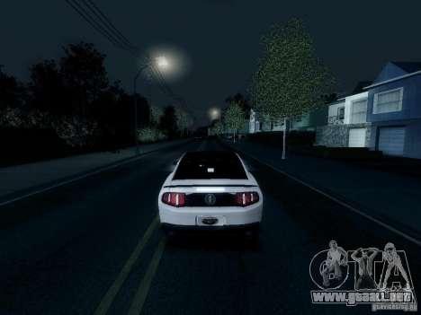 ENBSeries by Shake para GTA San Andreas quinta pantalla