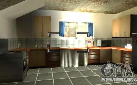 Es ruso Hata CJ para GTA San Andreas segunda pantalla