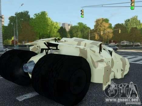 HQ Batman Tumbler para GTA 4 left