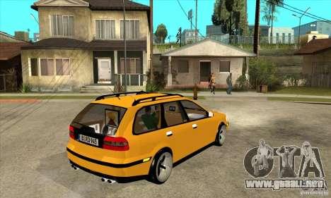 Volvo V40 para la visión correcta GTA San Andreas