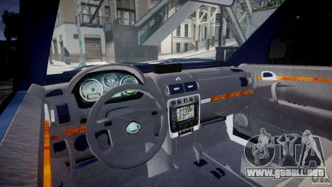 Range Rover Macedonian Police [ELS] para GTA 4 visión correcta