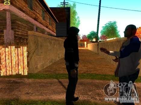 Alex Mercer para GTA San Andreas segunda pantalla