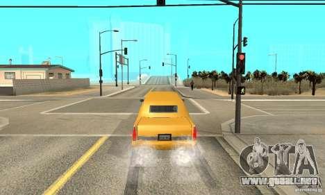 VIP TAXI para GTA San Andreas quinta pantalla