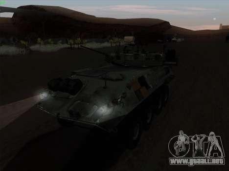 LAV-25 para GTA San Andreas left