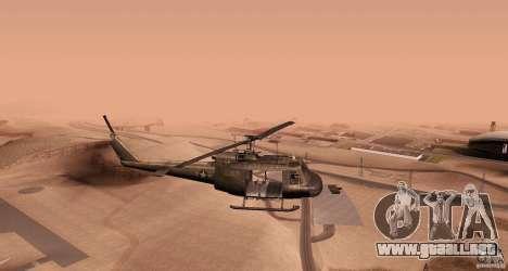 UH-1H para GTA San Andreas left