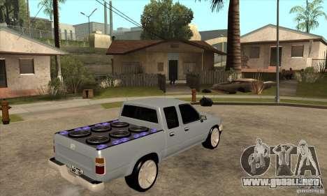 Toyota Hilux Surf v2.0 para la visión correcta GTA San Andreas