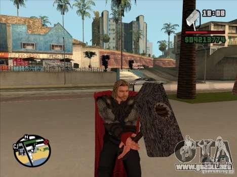 Thor para GTA San Andreas tercera pantalla