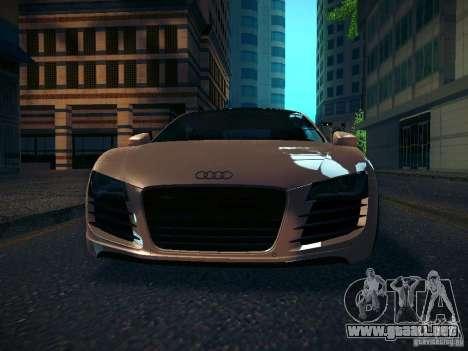 Audi R8 V10 para visión interna GTA San Andreas
