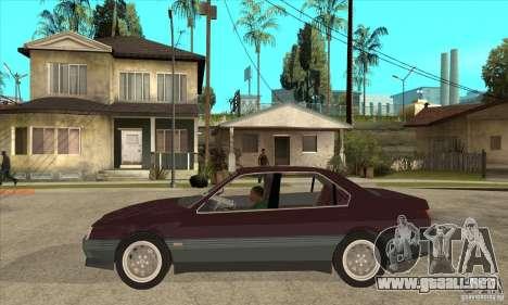 Alfa Romeo 164 3.0 V6 1987 para GTA San Andreas left