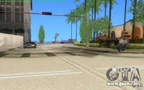 Caminos concretos de Los Santos Beta para GTA San Andreas novena de pantalla