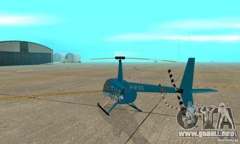Robinson R44 Raven II NC 1.0 TV para la visión correcta GTA San Andreas