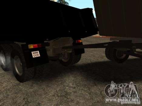 GKB 8350 Flatbed para la visión correcta GTA San Andreas