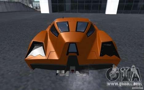 Spada Codatronca TS Concept 2008 para GTA San Andreas left