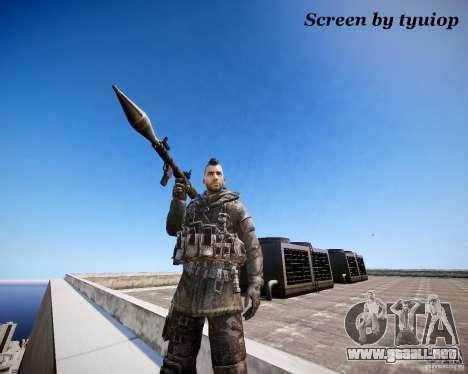 Modern Warfare 3 Soap Europe para GTA 4