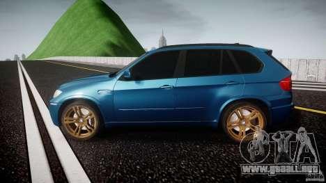 BMW X5 M-Power wheels V-spoke para GTA 4 left