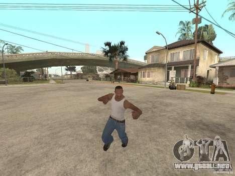 Awesome .IFP V3 para GTA San Andreas octavo de pantalla