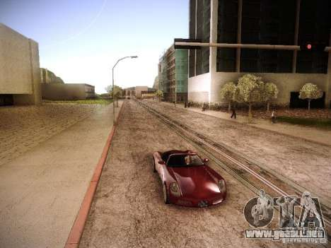 Aumento de dibujo máquinas y pedov para GTA San Andreas tercera pantalla