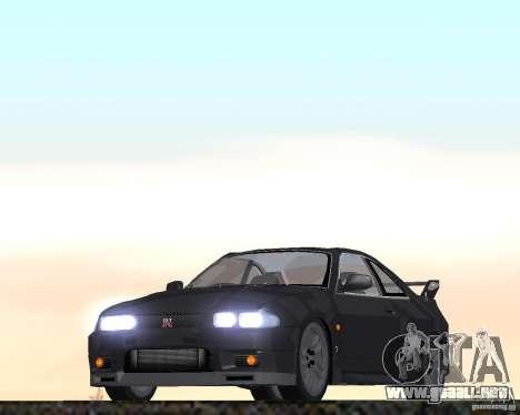 Nissan Skyline GT-R R-33 para GTA San Andreas