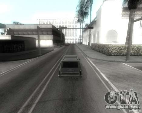 GTA SA - Black and White para GTA San Andreas quinta pantalla