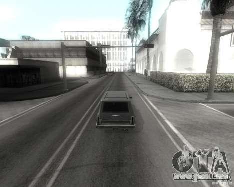 GTA SA - Black and White para GTA San Andreas quinta pantalla