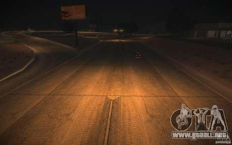 HD Road v 2.0 Final para GTA San Andreas octavo de pantalla