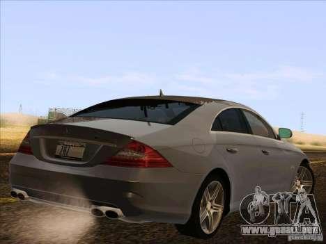 Mercedes-Benz CLS63 AMG para la visión correcta GTA San Andreas