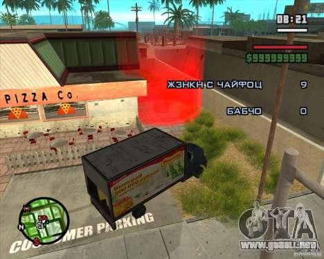 CJ-Loader para GTA San Andreas segunda pantalla