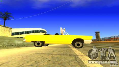 Crazy Taxi - B.D.Joe para GTA San Andreas left