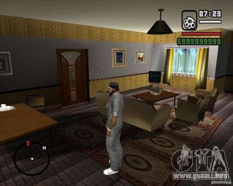 Sustitución de la CJeâ casa entera para GTA San Andreas décimo de pantalla