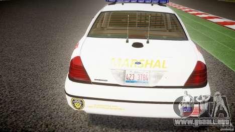 Ford Crown Victoria US Marshal [ELS] para GTA motor 4