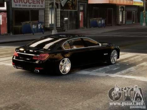 BMW 750 LI 2010 para GTA 4 left