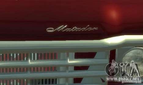 AMC Matador para GTA 4 vista superior