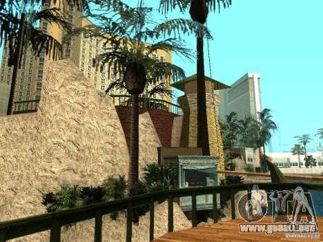 Nuevas texturas para casino Visage para GTA San Andreas tercera pantalla