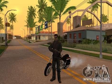 Terminator para GTA San Andreas segunda pantalla