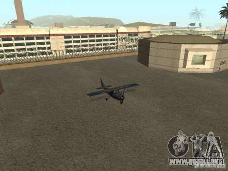 Un nuevo avión-Dodo para visión interna GTA San Andreas