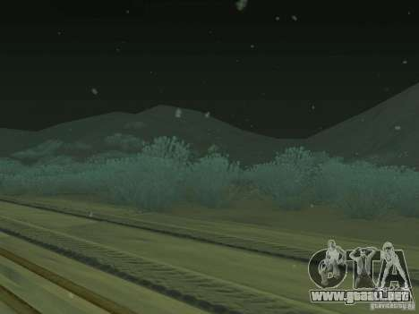 Nieve v 2.0 para GTA San Andreas tercera pantalla