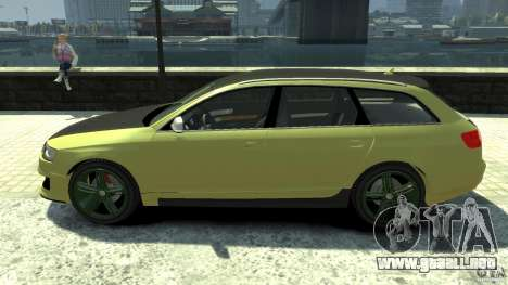 Audi RS6 Avant 2010 Carbon Edition para GTA 4 left