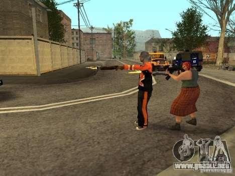 Cualquier grupo de player 3.0 para GTA San Andreas tercera pantalla