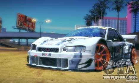 Nissan Skyline Touring R34 Blitz para la visión correcta GTA San Andreas