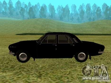 Volga GAZ-24 01 para la visión correcta GTA San Andreas