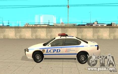 Patrulla de la policía de GTA 4 para GTA San Andreas left