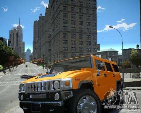 Hummer H2 2010 Limited Edition para GTA 4 left