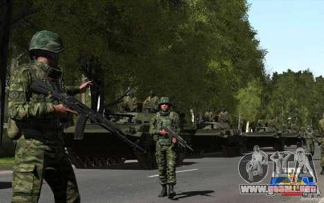 Piel de un soldado ruso para GTA San Andreas tercera pantalla