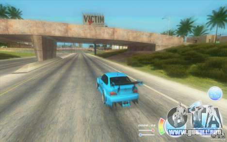 CraZZZy velocímetro v. diesel 2.2 + limitada para GTA San Andreas segunda pantalla